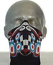 Cagoules, masques et tubes coupe-vent pour casques et vêtements pour véhicule