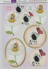 3D A4 Die Cut Paper Tole Decoupage Dalmation Bee Daisy 2 pictures NoCutting NEW
