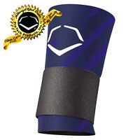 EvoShield Speed Stripe Navy Blue Compression Wrist Sleeve With Strap