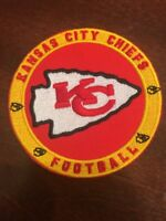 "Kansas City Chiefs vintage embroidered iron on logo patch 3""  NFL"