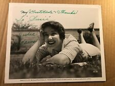 Julie Adams Rare Very Early Original Autographed 8/10 Photo From '54 Creature