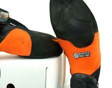 Mad Rock Shark Climbing Shoes-Black/Orange-Concave Shape Men Sz 4 US Euro 35.5