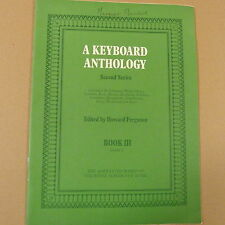 piano A KEYBOARD ANTHOLOGY second series, Book 3, Grade 5, Howard Ferguson abrsm