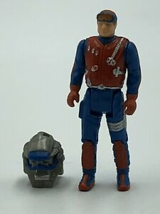 Kenner Dusty Hayes Action Figure Backlash helmet Gator Parts LOT