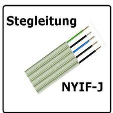 Stegleitung  NYIF-J 5x1,5 , 50m