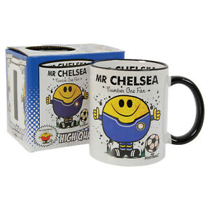 FOOTBALL MUG - great gift for CHELSEA fan  ( unofficial )