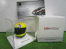HELMET CASQUE F1 Mark DONOHUE 1973 1/8 TRUE SCALE TSM15AC07 miniature collection