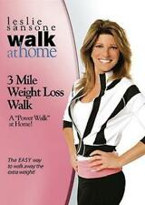 LESLIE SANSONE 3 MILE WEIGHT LOSS WALK DVD WALK AT HOME WALKING EXERCISE NEW