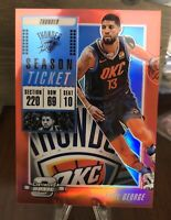 2019 Optic contenders PAUL GEORGE RED PRIZM #4 THUNDER
