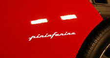 2X PININFARINA DECAL PEGATINA STICKER AUFKLEBER ALFA ROMEO FERRARI LANCIA FIAT
