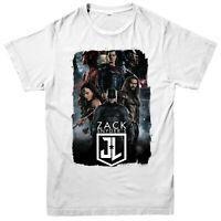 Zack Snyder's Justice League T-Shirt, DC Comics Superheroes Superman Aquaman Top