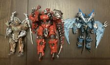 Transformers Premier Edition The Last Knight Dinobots Lot Of 3