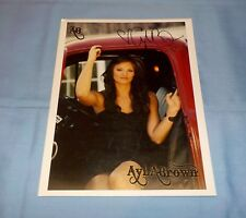 Ayla Brown Signed Autographed Photo Singer American Idol