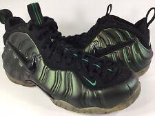 Nike Air Foamposite Pro Pine Green Black Mens Size 10 Rare 624041-301