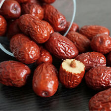 Natural Healthy Food Snack JUJUBE Chinese 100% Organic Dried Red Dates 1Bag 500g