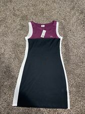 NWT Lacoste Athletic Tennis Sports Dress Womens Size M 40/8 Black  Croc Logo