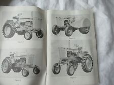 Case 730 830 tractor operator's instruction  manual