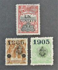 nystamps El Salvador Stamp # 299//368 Mint OG H $38