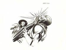 Mortal Kombat Drawing - Head Kick art by Neal Adams
