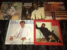 Johnny Mathis Vinyl LP's X 5
