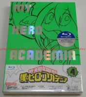 New Boku no My Hero Academia Vol.4 Limited Edition Blu-ray CD Booklet Card Japan
