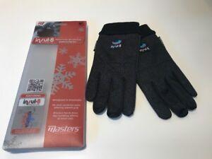 Masters Insul-8 Winter Gloves, Pair, Windproof, Size Medium Large