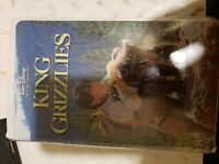 King of the Grizzlies (VHS,  clamshell rare and HTF brand new sealed