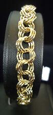 (RI2) 14K Yellow Gold Fashion Bracelet - 11.3g - 7.5 Inches