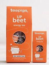 Up Beet Energy Tea Bags - Tea Pigs - 15 Biodegradable Tea Temples -