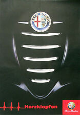 Alfa Romeo 147 156 Mito Giulietta LARGE Poster 100cm x 70cm Mint Condition