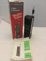 Realistic TRC-214 Walkie Talkie 3 Channel CB Stranger Things-Excellent Condition