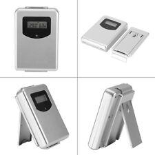LCD Display Digital Funk Innen/Außen Remote Sensor Luftfeuchtigkeit Thermometer