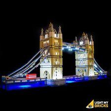 LIGHT MY BRICKS - LED Light kit for LEGO Tower Bridge 10214 Light Up Lego