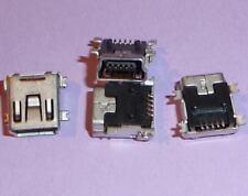 4x USB B mini Buchse PCB Print SMD innen 5 polig