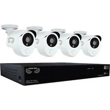 Night Owl HDA10P-841-BBPIR 4 Camera 8 Channel 2MP (1080P) DVR Video Security Sys