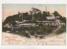 Weisser Hirsch Loschwitz Luisenhof & Drahtseilbahn 1902 Postcard Germany 081b