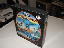 RARE vintage Maelstrom Games- Flames Of Freedom-1991 IBM-PC vintage.