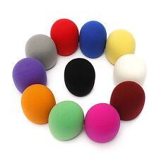 10*Colors Handheld Karaoke DJ Stage Cover Microphone Windscreen Foam Mic HOT