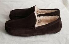 Ugg Men's Ascot Slippers Size: 10 Espresso 1101110 NWOB