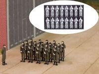 MU N-W00003 - Figuren Soldaten Bundeswehr Wache 16x - Spur N - NEU