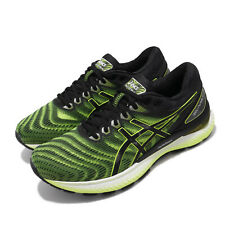 Asics Gel-Nimbus 22 Safety Yellow Black Men Running Shoes Sneakers 1011A680-751
