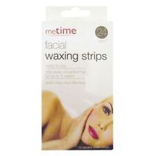 meTime 12 pairs of facial waxing strips