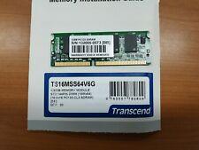 Transcend PC-133 SO-DIMM SD RAM 144pin TS16MSS64V6G