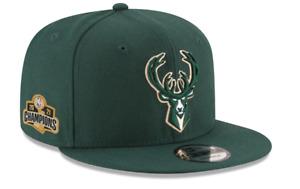 Milwaukee Bucks New Era 2021 NBA Finals Champions Sidepatch 9FIFTY Snapback Hat