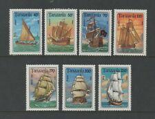 TANZANIA 1994 SAILING SHIPS (SG1791/7) *VF MNH*