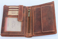 Wallet Natural Leather Purse Card Holder Portemonnee Jockey Club