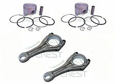 CONNECTING ROD & PISTON KIT FOR HONDA GX620 20HP V TWIN WITH PIN RINGS CLIPS SET