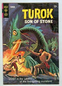 Turok #55 January 1967 VG Monsters of the Legend