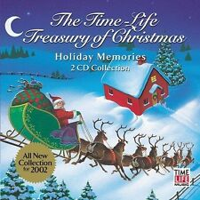 THE TIME-LIFE TREASURY OF CHRISTMAS: HOLIDAY MEMORIES BY  CD NEW SEALED
