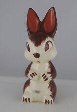 "Robert Simmons Cheeky the Ceramic Rabbit w Label, Mid-Century,  9"" t"